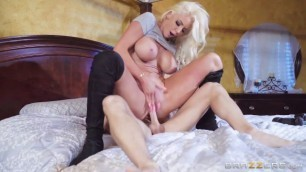The Fake Doll Big Boobs Nicolette Shea Founds Her Private Dick