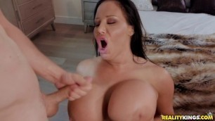 RealityKings - RKPrime Raunchy Sybil Stallone Has One Of The Best Booties In Cushion For The Pushin