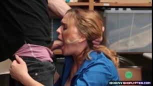 LP Officer Krissy Lynn fucks a Shoplifters bigcock