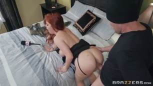BRAZZERS HD Ramming The Reporter Penny Pax Preston Parker very nice porn