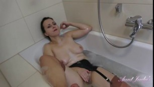Auntjudys Wanilianna Bathtub Stockings And Garter Amatuer Solo Tubes