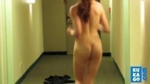 Hot Mom Seduces Stepson Flashing In Hostel