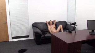 Diana backroom casting couch deep throat fuck