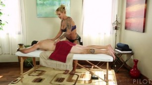 Ryan Conner naked ass massage seduced by step mom bubble butt fucked Fantasy Massage Pilot