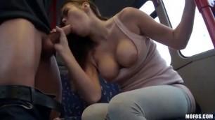 Public Sex City Bus Footage Bonnie Shai Outdoor porn