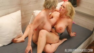 Wet Plump Pussy Pornstar Platinum Alura Jenson And Dee Williams Lesbian Sexing In The Spa Les