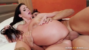 Brazzers BigTitsAtWork Midnight Cowgirl Big Tits Angela White Wants To Get His Big Dick