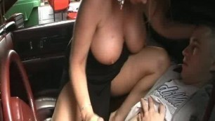 Homemade Amature Rachel Steele Picked Up And Sucked Off