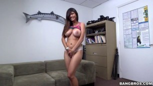 Bangbros Mia Khalifa Her first porno she made Audition Casting new video porn dirty wifes