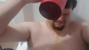 Tasting my Piss and Pouring it on my Head