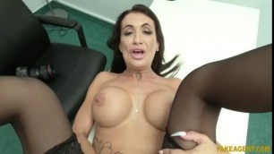 Princess Hot Brit Fucked Over The Office Desk