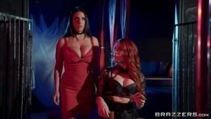 Hotandmean Angela White And Molly Stewart Swing Fling Part Hot Lesbian Stepmom