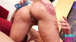 Kendra Lust Oiled Up And Banged