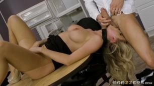Huge Boobs At Work Brazzers Jessa Rhodes The Clumsy Intern