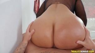 Perky Tits Sheila Ortega Fishnet Glam