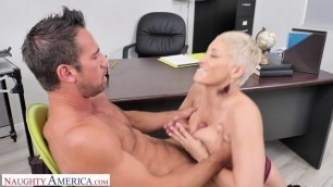 Ryan Keely Brenda Philips Gives Her Employee A Huge Raise In His Pants