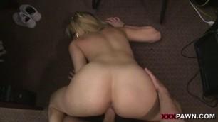 Skyla Novea Pawn Shop backroom deep pussy fucking porn