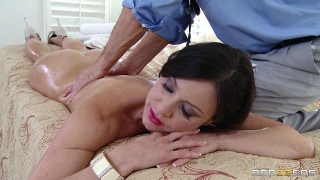 Kendra Lust Slutty Masseur Stress Relief