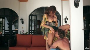 Stunning Brunette Madison Ivy gets fucked by the pool boy free porn