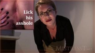 Mistress T Prison Whore Interrogation