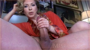Mistress T Sissy Training Dick Loving