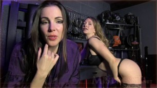 Mistress T Cuckold Entrancement With Domina White Snow