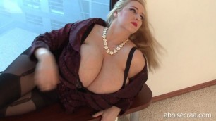 Bbw Tures Abbi Secraa Almost Only Fog Outside
