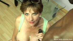 Lady Sonia Huge Nipples Spray Hardcore
